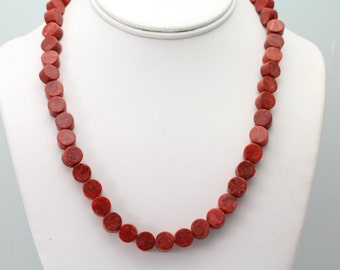Sponge Coral Necklace. Listing 508163137