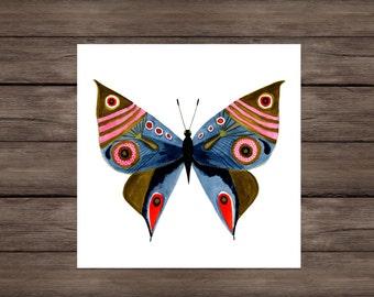 Creativity: Butterfly art print