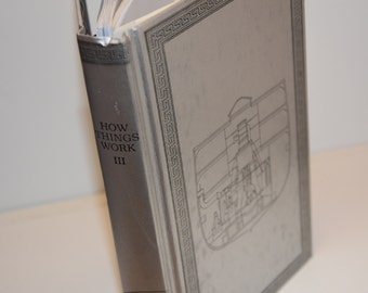 Upcycled Blank Book--How Things Work