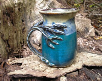 Tree  mug for the nature lover, 20 oz. capacity,  tea mug , coffee mug, handmade mug, favorite mug