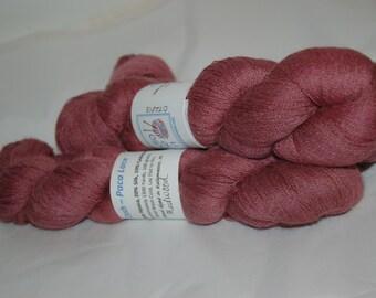 Studio June Yarn Cash Paca Lace - Baby Alpaca/Cashmere/Silk, 1300 yards, Color: Redwood