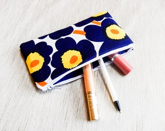 Christmas-Gift-for-Women/ Marimekko Make Up Bag/ Gift for Her/ Gift for Wife/ Girlfriend Gift/ BFF Gift/ Pencil Case/ Coworker Gift/ Pouch
