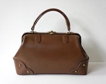 Vintage doctor handbag, 1970s