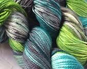 Lagoon Sock Yarn