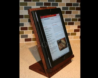 Attractive Wooden IPad Stand, Wooden Tablet Recipe Stand, Kitchen