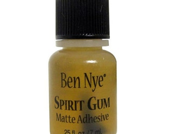 Ben Nye Spirit Gum 7ml Nipple Pasties Adhesive Lady Lucie Latex