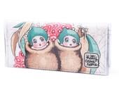 Bi-fold Clutch - May Gibbs Gumnut Babies - Snugglepot and Cuddlepie -  vintage fabric