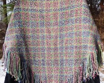 Handmade Wool Shawl!