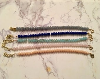 GLAM CLASPED, Glam beads for Women, Clasped Beaded Bracelet