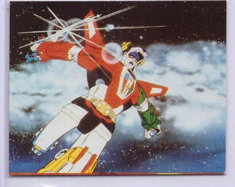 Rare 1984 Voltron Card from JAPAN 41