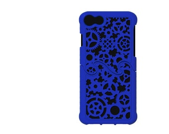 iPhone 7 Made-To-Order (4-6 weeks) Designer Gear & Cogs Steampunk Puzzle Case - 8 color options