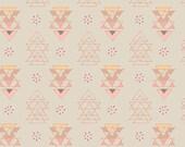 Miniments, Raw, Fabric, Geometric, Pink, Triangles, Fleet, &, Flourish, Modern, Rustic, Art, Gallery, Fabrics, Baby, Girl, In Custom Cuts