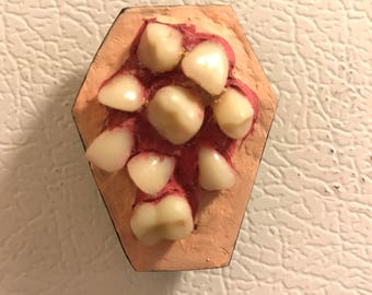 Tooth coffin magnet