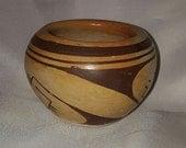 Vintage Minor Hopi Indian Pottery Bowl from Northern Arizona