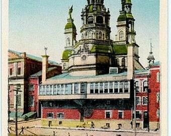 Vintage Canada Postcard - The Notre-Dame-de-Bon-Secours Chapel, Montreal (Unused)