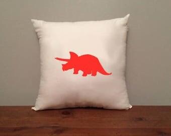 Triceratops Dinosaur Pillow