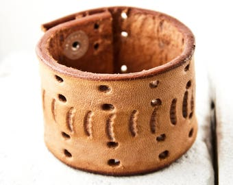 Women's Bracelet Wristband Leather Jewelry Cuff