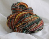 Hand spun merino 116 grams/4.1 oz worsted weight 304 yards