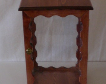 Doll display Case by Judy Illi Crafts
