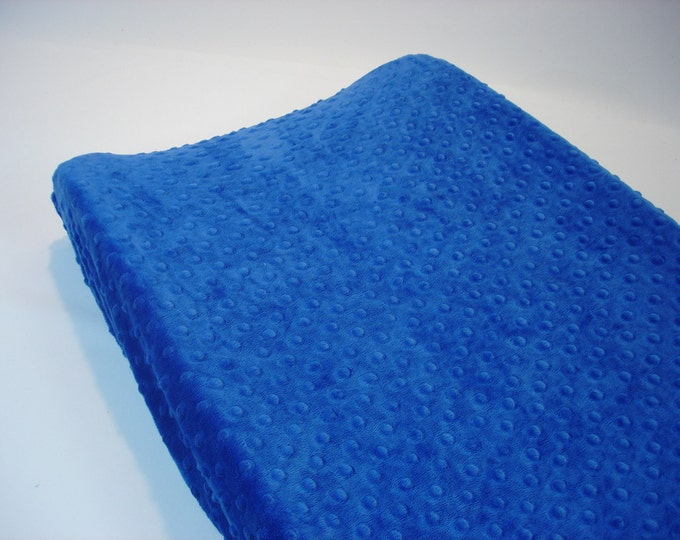 Changing Pad Cover Blue Cobalt