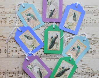 Gorgeous Peacock TAGS- Gorgeous Bird images PEACOCK art peacock images peacock gift tags peacock to and from tags peacok prints peacock gift