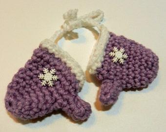 Tiny Mittens Christmas Ornament