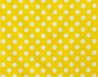 Waterproof Apron - Toddler and Primary - Yellow Dots