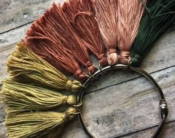 Choice of Handmade Cotton Tassels, Tassels, Tassel, Cotton Tassel, Cotton Tassels, Handcrafted Tassels