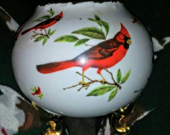 Vintage Cardinal Footed Bowl