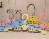 Vintage childrens hangers