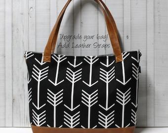 Add Vegan Leather Straps - Upgrade - For Your BagEnvy Handbag Or Diaper Bag