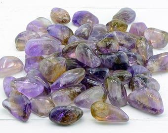Ametrine Tumbled Gemstone - Stone for Hybrid Balance