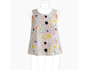 Grainline Studio Willow Tank & Dress Pattern (paper)