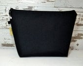 Camera insert for your DSLR & gear in black water resistant fabric, by Darby Mack made in the USA