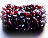 Bella Bella Bracelet - Garnet, garnet bracelet, stone stretch bracelet