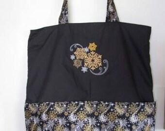 Beautiful Snowflake Version A Tote Bag Shopping Bag Diaper Bag