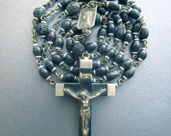 Gutta Percha Large Vintage Rosary