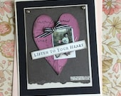 Listen to Your Heart Handmade Valentine