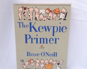 The Kewpie Primer paperback book by Rose O'Neill. 1980.