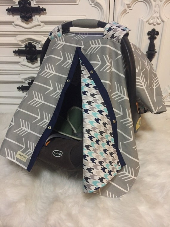 Car seat cover / car seat canopy / carseat cover / carseat canopy / nursing cover / arrow / baby boy
