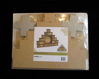 Kaisercraft SB2204, Kaisercraft Shadow Box Drawers, Beyond The Page SB2204, sb2204, 25 Drawer Advent Calendar, Christmas Advent Calendar