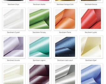 ENVELOPES STARDREAM Metallic Envelopes- Shimmer Envelopes - Pearlescent Envelopes- Aspire Petallics - Curious Metallics - Size A7 ENVELOPE