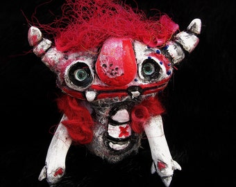 Bulls Eye- a happy art doll