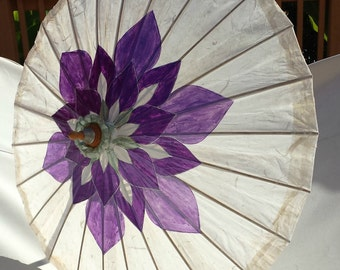 Parasol Purple Lotus Parasol
