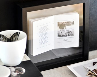 Personalised Framed Photobook