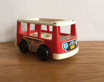 Vintage Fisher Price Mini Bus