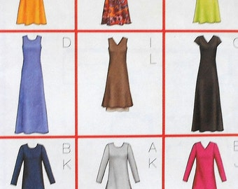 Dress Sewing Pattern UNCUT Butterick 6930 Sizes 14-18