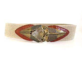 Vintage Tribal Omega Belt // Made in USA