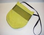 Sugar Glider, Bonding Pouch, Lime Green Fleece, Viewing Screen, Zipper Closure, Small Animal Pouch, CooperStudios