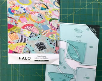 Halo Acrylic Template Set by Jen Kingwell (Jenny from One Block)